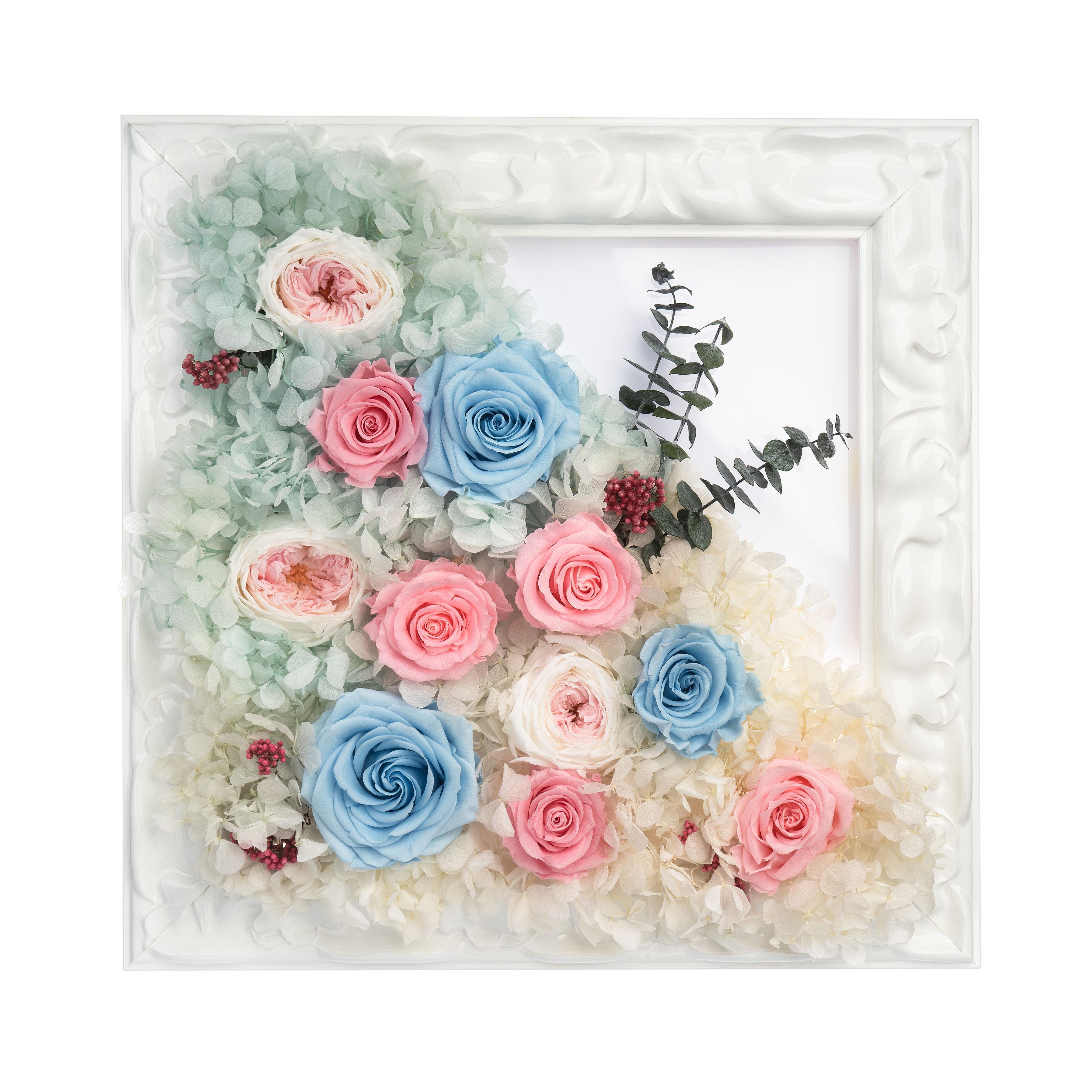 Произведения из роз